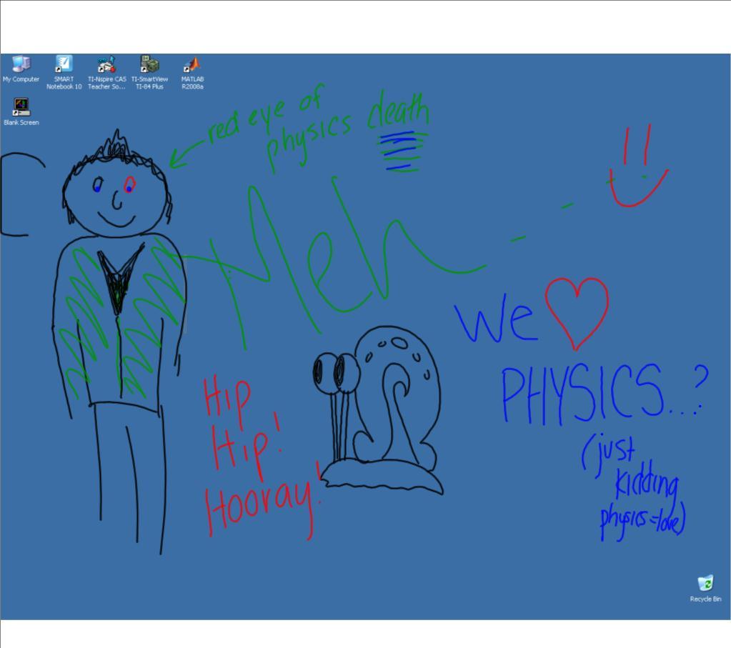 Physics Doodle 17 Apr